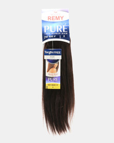 """MilkyWay Pure Remy Pure Yaky Weave 100% Human Hair 14"""" - 2 Dark Brown"""