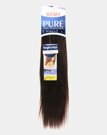 """MilkyWay Pure Remy Pure Yaky Weave 100% Human Hair 16"""" 2 Dark Brown"""