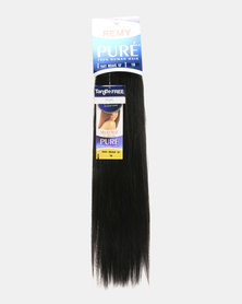 "MilkyWay Pure Remy Pure Yaky Weave 100% Human Hair 18"" 1B Off Black"