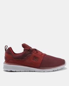 DC Heathrow Sneaker Burgundy