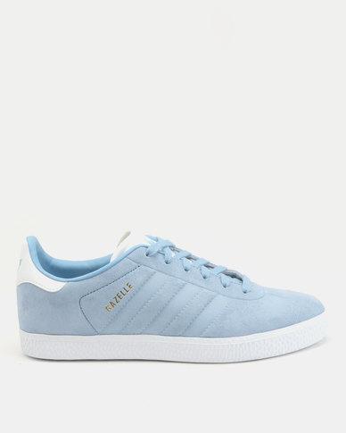 adidas Gazelle J Sneakers Ash Blue/Ftwr White