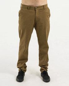DC Worker Straight Chino Pants Khaki