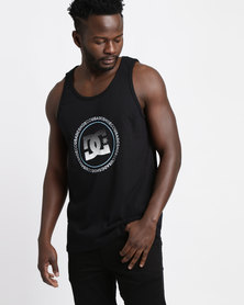 DC Wayback Circle Vest Black