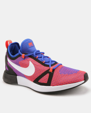 Nike Duel Racer Racer Sneakers Blue/White-Total Crimson-black
