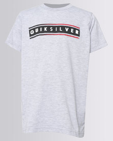 Quiksilver Daily Surf Boys T-Shirt Grey Melange