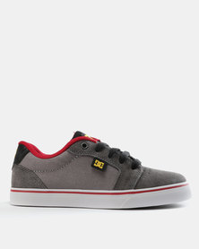 DC Anvi Sneakers Grey/Red