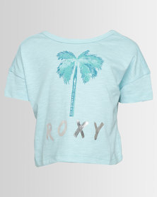 Roxy Tortilla Biscuit T-Shirt Pastel Turquoise