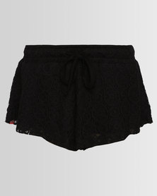 Roxy West Point Landing Girls Shorts Black