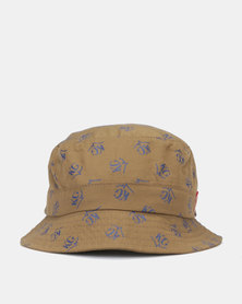 KG Repeat KG Print Spoty Hat Olive