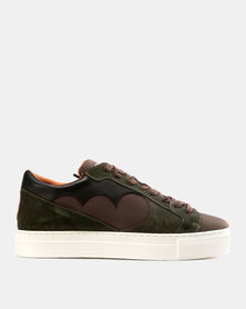 Magents Ndozi Low Cut Canvas Sneakers Olive