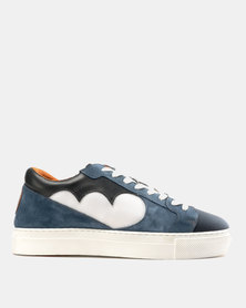 Magents Ndozi Low Cut Canvas Sneakers Sky/Navy