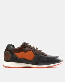 Magents Achuze Sports Sneakers Green/Brown