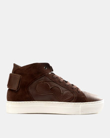 Magents Wrapped Mid Boot Sneakers Brown