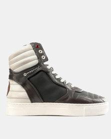 Magents Moja Hi Top Boot Sneakers Olive