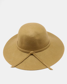 Unseen Daisy Wool Hat Olive