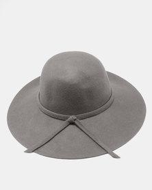 Unseen Daisy Wool Hat Grey