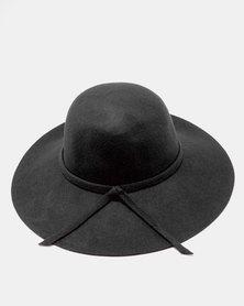 Unseen Daisy Wool Hat Black
