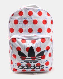 adidas Backpack Clas Dots White/Borang
