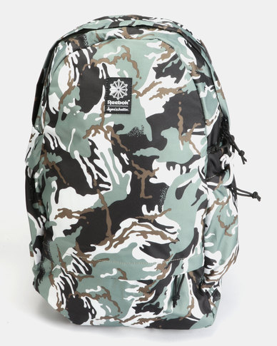 Reebok CL FO JWF Backpack HUNGRY Camo