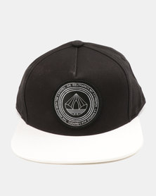 SNB FB CAP B&W      BLACK/WHITE