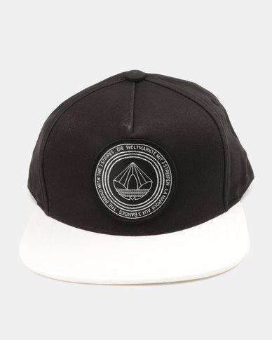SNB FB CAP B&W      BLACK/WHITE