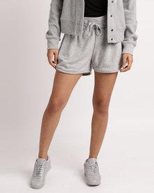 Reebok F Knit Track Shorts Grey