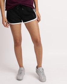 Reebok F Knit Track Shorts  Black