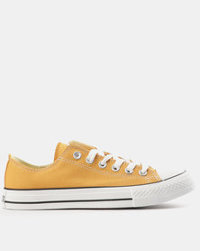 Soviet Viper Fash Basic Canvas Low Cut Lace Up Sneakers Burnt Mustard