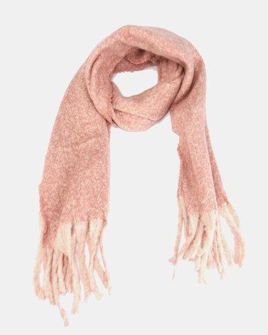 Lily & Rose Medium Knit Scarf  Dusty Pink