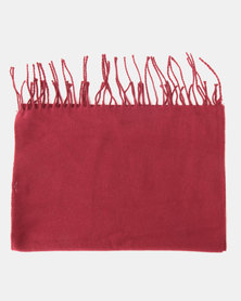 Lily & Rose Simple Scarf Red