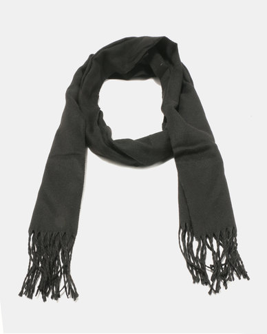 Lily & Rose Simple Scarf Black