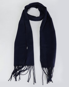 Lily & Rose Simple Scarf Space Blue