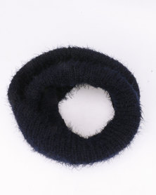 Lily & Rose Knitted Snood Navy