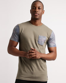 Quiksilver Ill Be Back Tee Dusty Olive