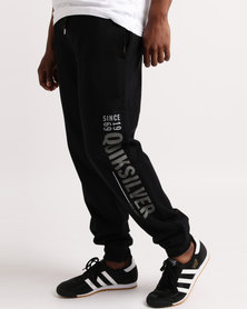 Quiksilver There She Goes Joggers Black