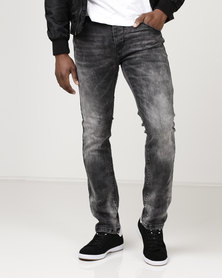 KSTR Tissot Slim Fit Denim Jeans Black