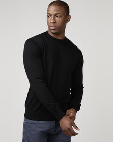 KSTR Crew Neck Knitwear Black