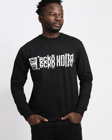 ECKÓ Unltd Crew Sweater Black