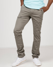 Soviet M Acosta Modern Fit Chinos Putty