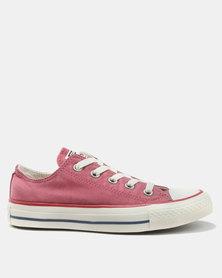 Converse CTAS Ombre Wash Ox L Sneakers Port/Garnet