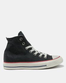 Converse CTAS Ombre Wash Hi Top L Sneakers Black/Garnet