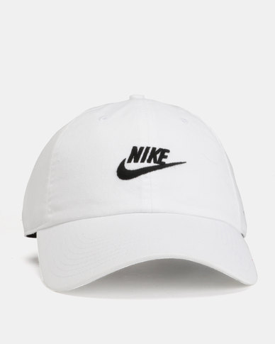 3880746cb Nike U NSW H86 Cap Futura Washed White/Black | Zando