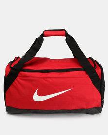 Nike Performance NK BRSLA Mens Duff Bag Red