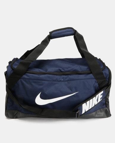 Nike Performance NK BRSLA Mens Duffel Bag Blue  4093d4c92e642