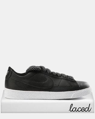 reputable site 711ce 92164 Nike Blazer Sneakers Black