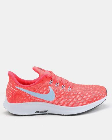 f70505e7207af Nike Performance Womens Air Zoom Pegasus 35 Trainers Orange