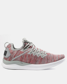 Puma Performance Ignite Flash EvoKNIT Shoes Red