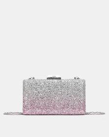 Miss Black Maxima Clutch Bag Pink