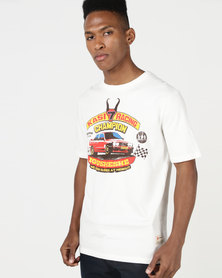 Magents Iconic Kasi Racing Tee White