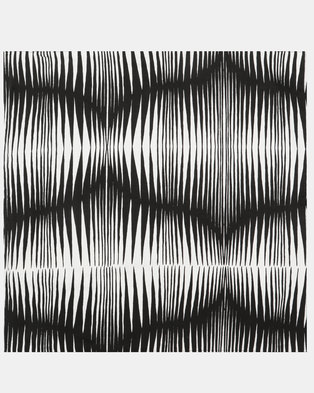 MARADADHI TEXTILES Zebra Scatter Cushion Cover Black/White